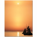 The Image Shop OLH409 Sail Away Letterhead, 100 pack