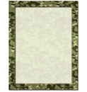 Camouflage Letterhead - 25 pack