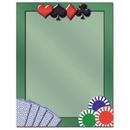Card Games Letterhead - 25 pack
