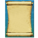 The Image Shop OLH446-25 Ancient Scroll Letterhead, 25 pack