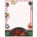 The Image Shop OLH484 Backyard BBQ Letterhead, 100 pack