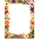 Fall Floral Letterhead - 25 pack
