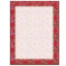 The Image Shop OLH623 Rosy Border Letterhead, 100 pack