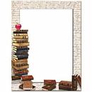 The Image Shop OLH660-25 Books Letterhead, 25 pack