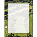 The Image Shop OLH691 Golf Course Letterhead, 100 pack