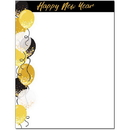 The Image Shop OLH844-25 Happy New Year Letterhead, 25 pack