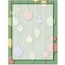 Hanging Ornaments Letterhead - 100 pack