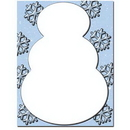 Snowman Letterhead - 25 pack