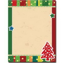 Dotted Tree Letterhead - 25 pack
