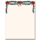 The Image Shop OLHX90-25 Silver Bells Letterhead, 25 pack