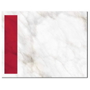 Red Marble Post Card, 100 pack