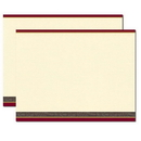 Provence Trifold Brochures, Blank Parchment Post Card, 65lb Cover