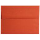 Pop-Tone Tangy Orange A-7 Envelopes - 25 Sheets/Pack