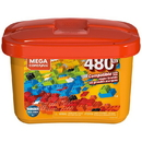 Mega Construx Medium Bulk Tub Open Ended Construction Set - 480pcs - GJD23