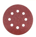 Muka 80Pcs 5 Inch 8 Hole Sanding Discs Sandpaper Hook and Loop Adhesive Sand Paper