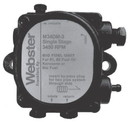 Webster M34DM-3 Bio Fuel Pump Single Stage 3450 Rpm Cw, Rh Nozzle 3 Gph @ 150 Psi, 75-190 Psi Range, Internal Cut-Off
