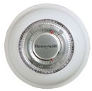 Honeywell T87N1000 Premier White 24V Mercury Free Heating/Cooling Round Thermostat 40-90F