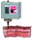 Honeywell L482A1004 Manual Reset Remote Bulb Low Limit Temperature Control W/20 Ft. Copper Cap. 15-55F