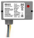 Rib Relays RIB2421C ENCLOSED RELAY 10AMP SPDT w/24Vac/dc/120-277VAC COIL -