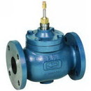 Nor'East Controls V5011B1070 Two-way, Globe, 6 in, Flanged, 360 Cv, Water or Glycol (stem up to close)