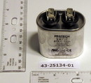Rheem Furnace Parts 43-25134-01 Capacitor - 3/370 Single Oval REPLACES 43-100496-02