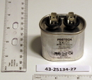 Rheem Furnace Parts 43-25134-27 Capacitor - 4/370 Single Oval