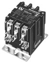 Honeywell DP3030A5004 Deluxe Power Pro Contactor. Poles: 3. Coil Voltage: 24V. Contact Rating: 30Amps. 50/60 Hz. Terminal Connection: Box Lug Replaces Dp3030A5003