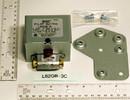 Baso Gas Products L62GB-3C PILOT SWITCH MANUAL RESET W/100% SHUTOFF 120-240 vac, nat/lp, 1/2 psi