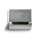 Johnson Controls SIO2-10000 24V GLAS 7 Day WiFi Smart Programmable Clear Thermostat