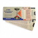 Bacharach 10-5064 (Kit Contains 1 Ea. Of 11-0071, 11-0072 & 11-0073). Fire Efficiency Finder