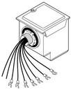 Schneider Electric / Barber Colman CP-9302 120V Actuator Drive Replaces Cp-8391-910