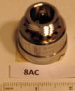 Watts Regulator 8AC Hose Vac Breaker Non-Removeable Chrome