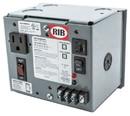 Rib Relays PSH100AB10 Enclosed Single 100VA 120 to 24Vac UL Class II power supply 10A main breaker