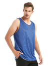 TopTie Men's Tank Top, Reversible Mesh Tank, Basketball Jerseys, Lacrosse Jersey