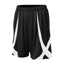 TOPTIE Youth Basketball Shorts, Viscose Knit, No Pockets