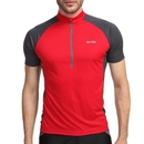 TopTie Men Cycling Jersey Shirt, Short Sleeve