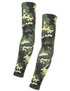 TOPTIE 1 Pair Men's Cooling Arm Sleeves Anti-Slip Sun Protection Camouflage Cover