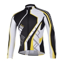 TopTie Men's Long Sleeve Bike Jersey With Sublimated Print