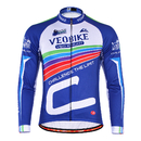 TopTie Long Sleeve Cycle Cycling Jersey Shirt