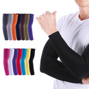 TOPTIE 1 Pair Arm Sleeves for Men Women, Compression Sports Sleeves, Running Sleeves, Basketball Sleeves, Football Sleeves
