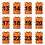 Orange (#13 to 24)