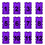 Purple (#1 to 12)