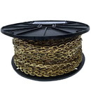 Red Rooster 34323 Chain on Reel, 1/0 Bright Brass Safety Chain 200'