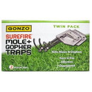 Red Rooster 88170 Gonzo Mole and Gopher Trap - Surfire, Twin Pack