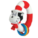Manhattan Toy 144130 Dr. Seuss THE CAT IN THE HAT Take & Shake Ring