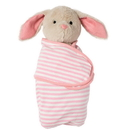 Manhattan Toy 154850 Swaddle Baby Bunny