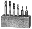 Michigan Drill 1/8-1/2 4F S/E M42 Co Endmill Set (205Ca)