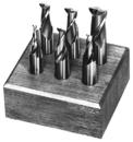 Michigan Drill 1/8-1/2 3/8 Shk Set Endmill (231A)