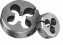 Michigan Drill 3/8-24 Hs Lh Round Adjustable Split Dies (751L 3/8Fx1-1/2)