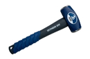 Seymour 41806 3 lb Drilling Hammer - Spiral Anti-Slip Grip & Overstrike Protection - Fiberglass 10